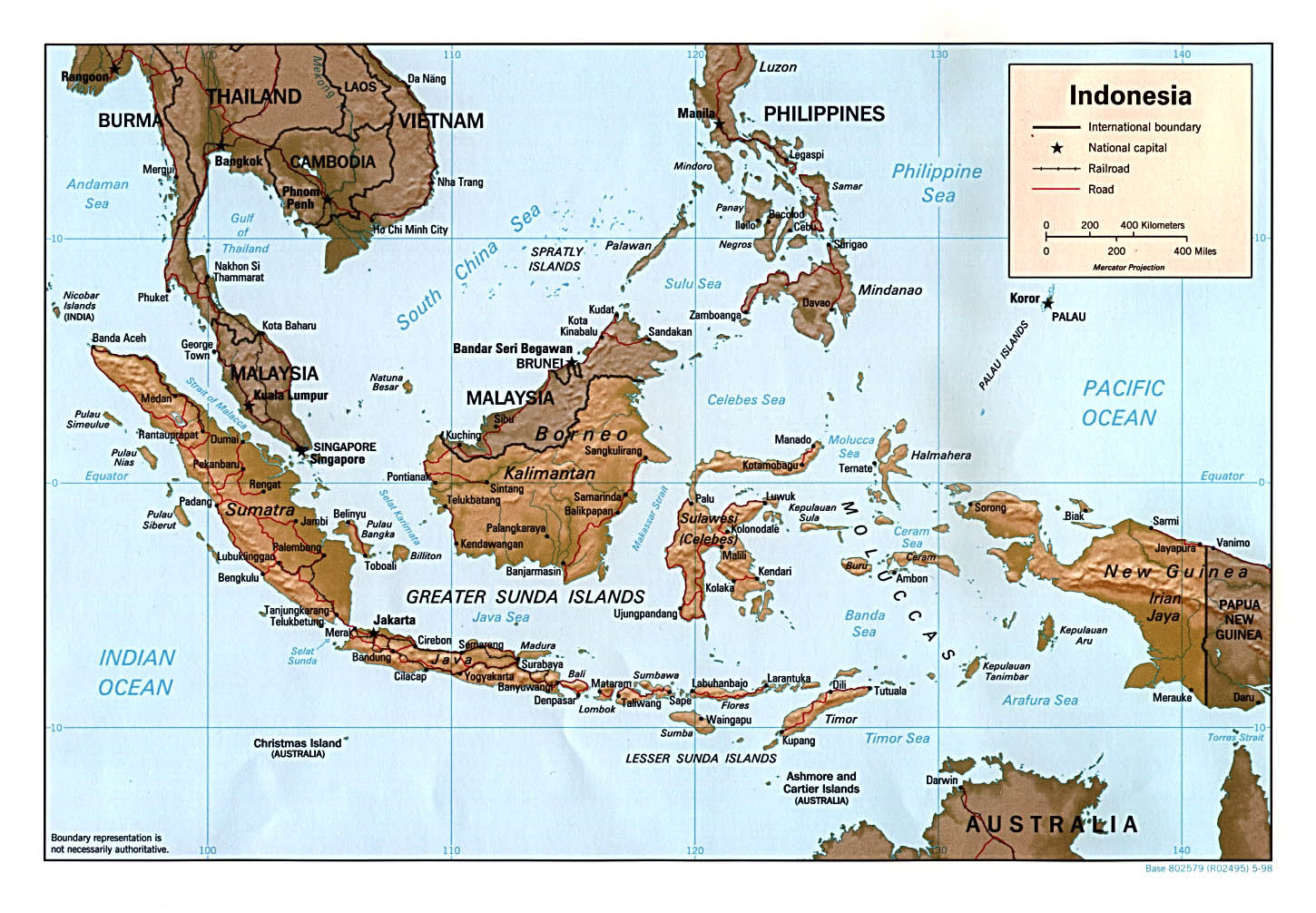 map of Indonesia Indonesia map and travel guide