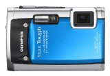 Olympus Stylus Tough 6020 14MP Digital Camera with 5x Wide Angle Zoom and 2.7 inch LCD (Blue)