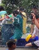 Songkran Festival at Surin Beach
