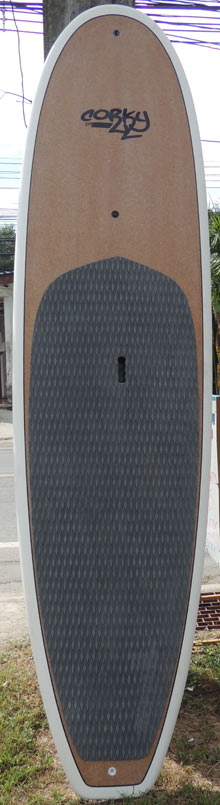 Cork stand up paddle board