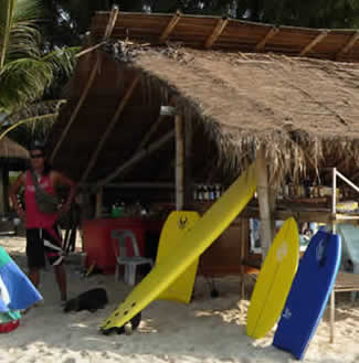 Bang Tao Beach Surfboard rental Phuket