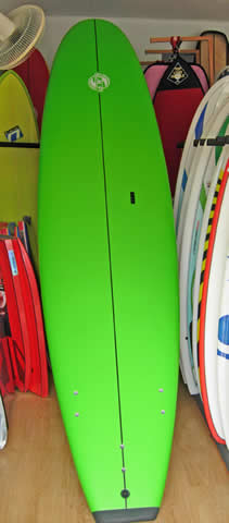 Soft top stand up paddleboard