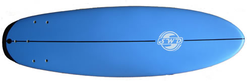 Soft top surf board