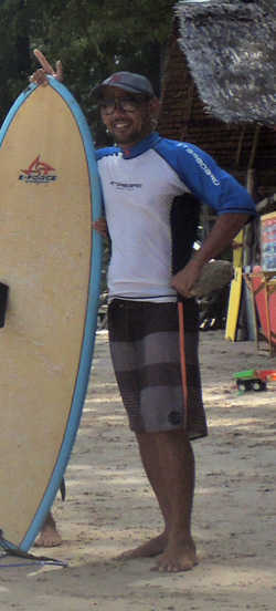 surfing instructor