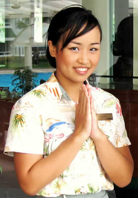 Thai Greeting - Wai