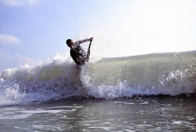 Bodyboarding how to ride