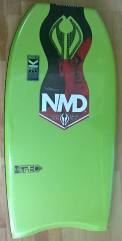 NMD Spec LTD bodyboard