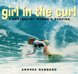 girl in the curl surf book