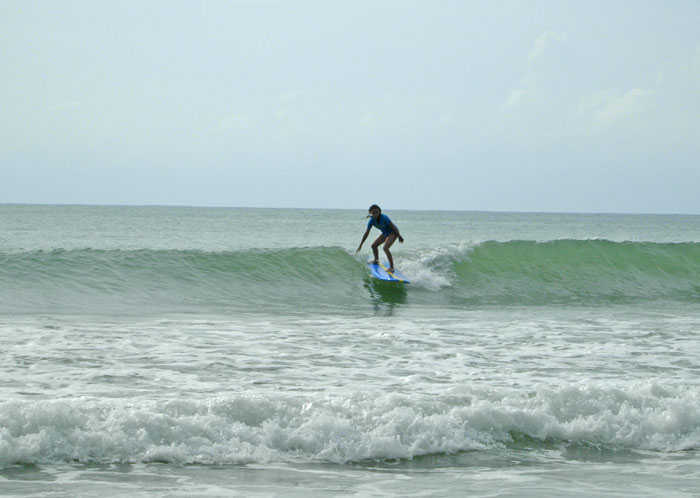 Bang Tao Beach is a beginner surfer location
