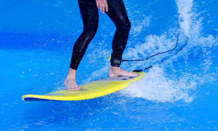 Surfing Foot Placement