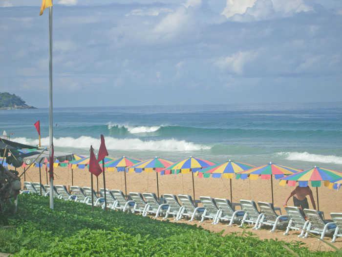 Karon Beach Waves
