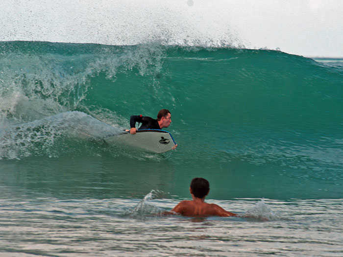 Bodyboarding in Thailand