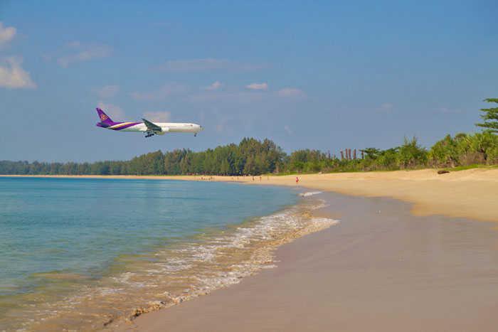 Nai Yang Beach Plane
