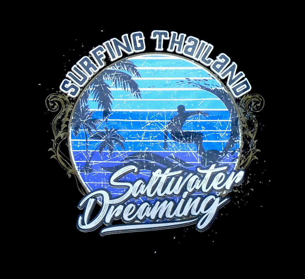 Saltwater Dreaming Tee Shirt Design