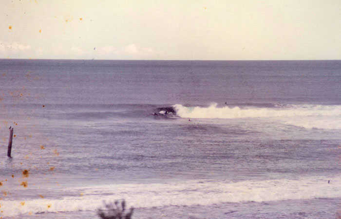 Sandon Point Pole in 1979