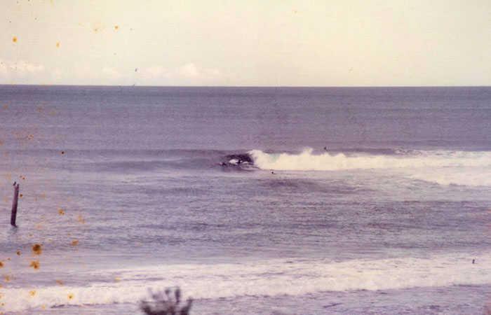Sandon Point Pole in 1979