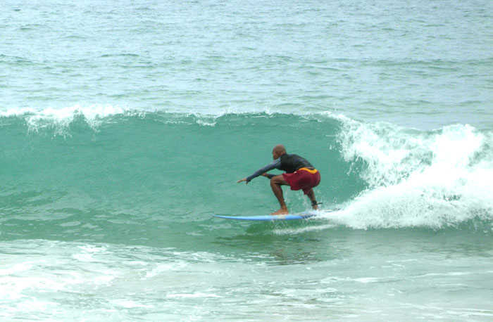 Surf Pics of Bang Tao Phuket Thailand