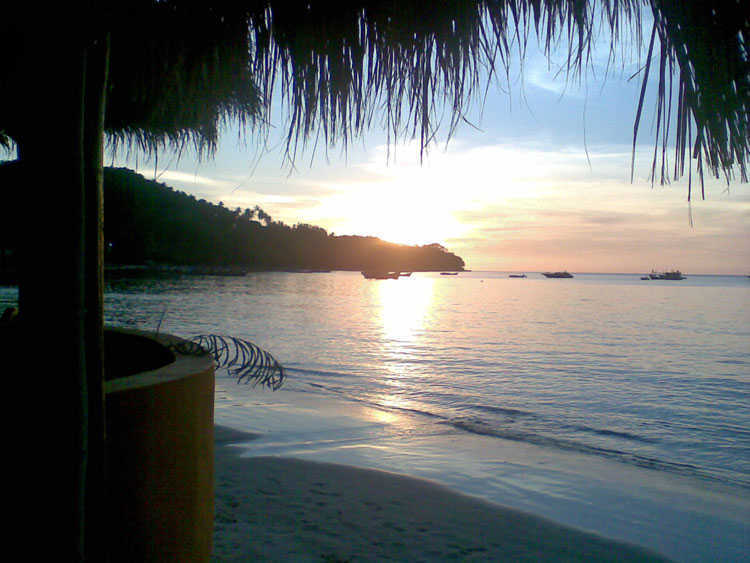 Sunset Bang Tao Beach