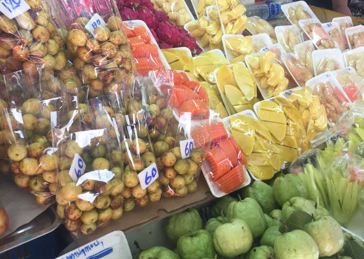Thai Fruit Stall