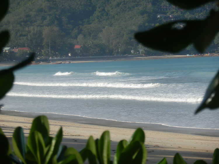 Kamala Beach Looking South