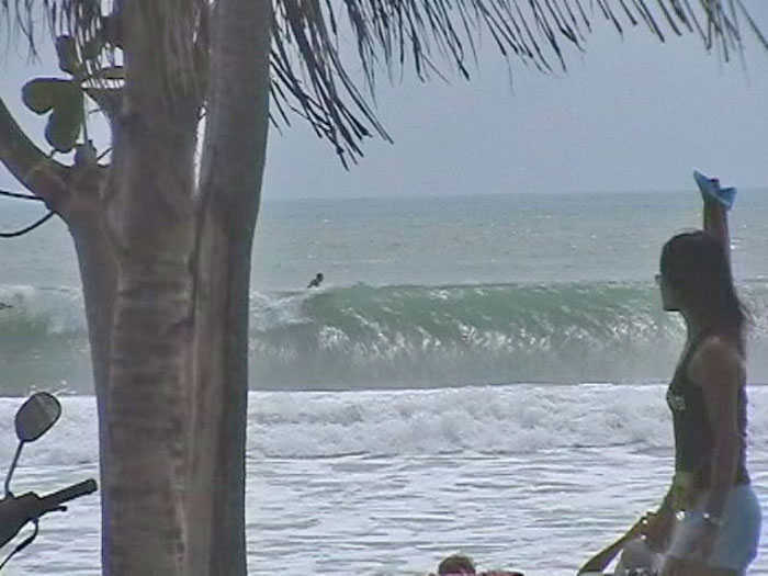 Surfing Patong Beach