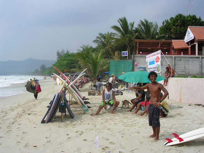 Surfing Koh Samui