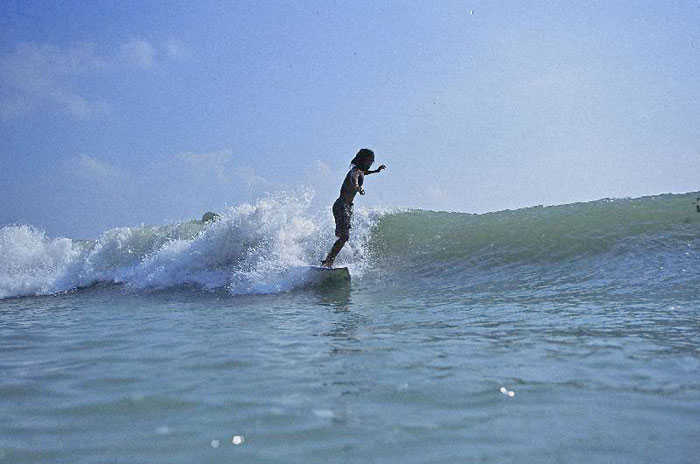 Local Koh Samui Surfer