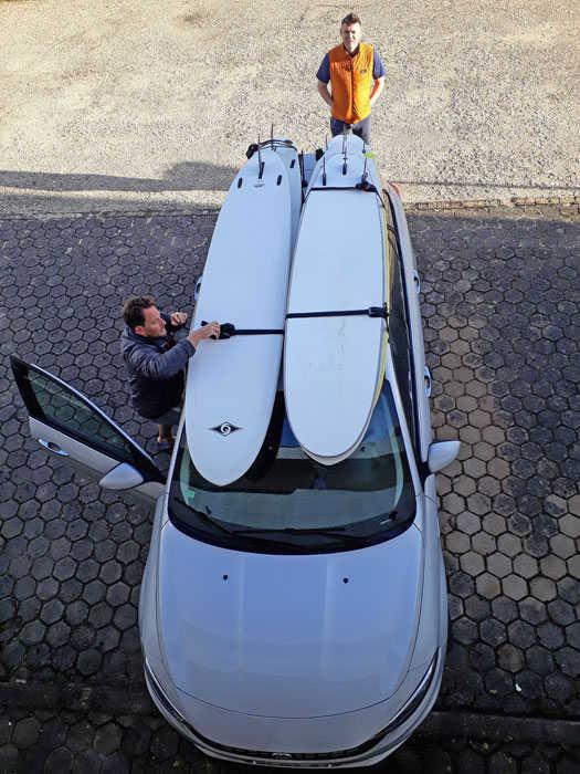 Secure Surfboard