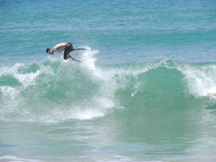Toby Surfing Khao Lak