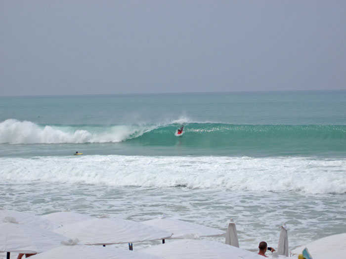 Surfing Surin Beach