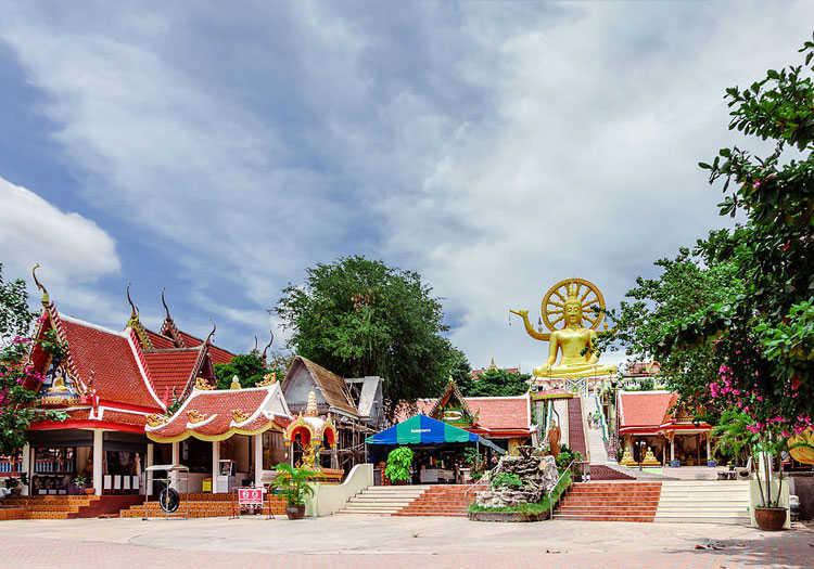Wat Pra Yai-Big Buddha Temple