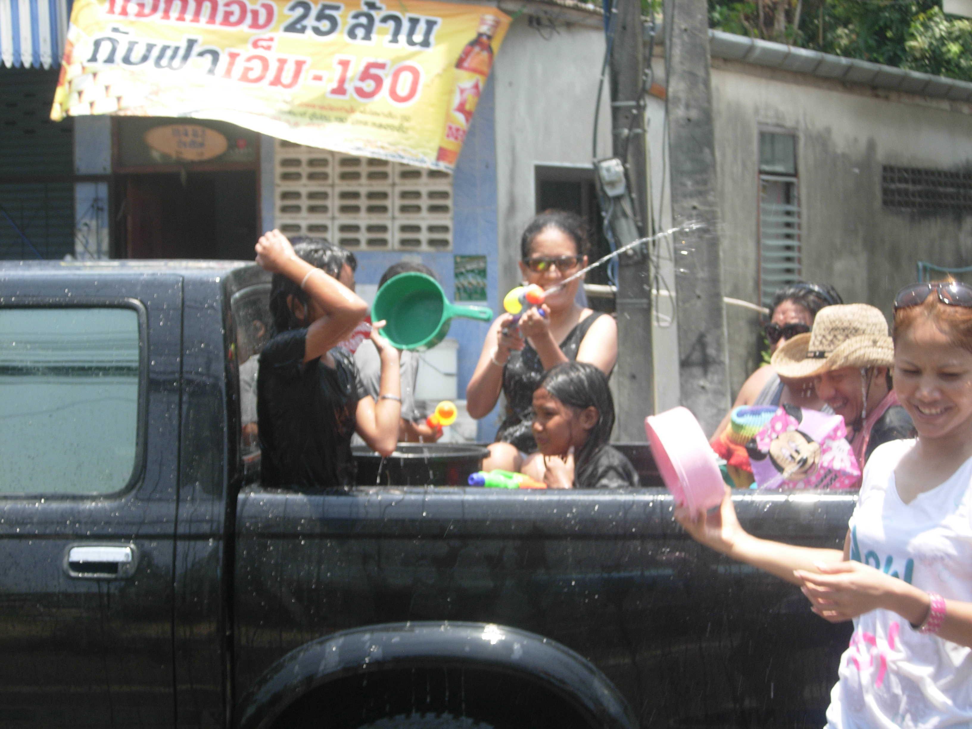 Songkran Festival Phuket