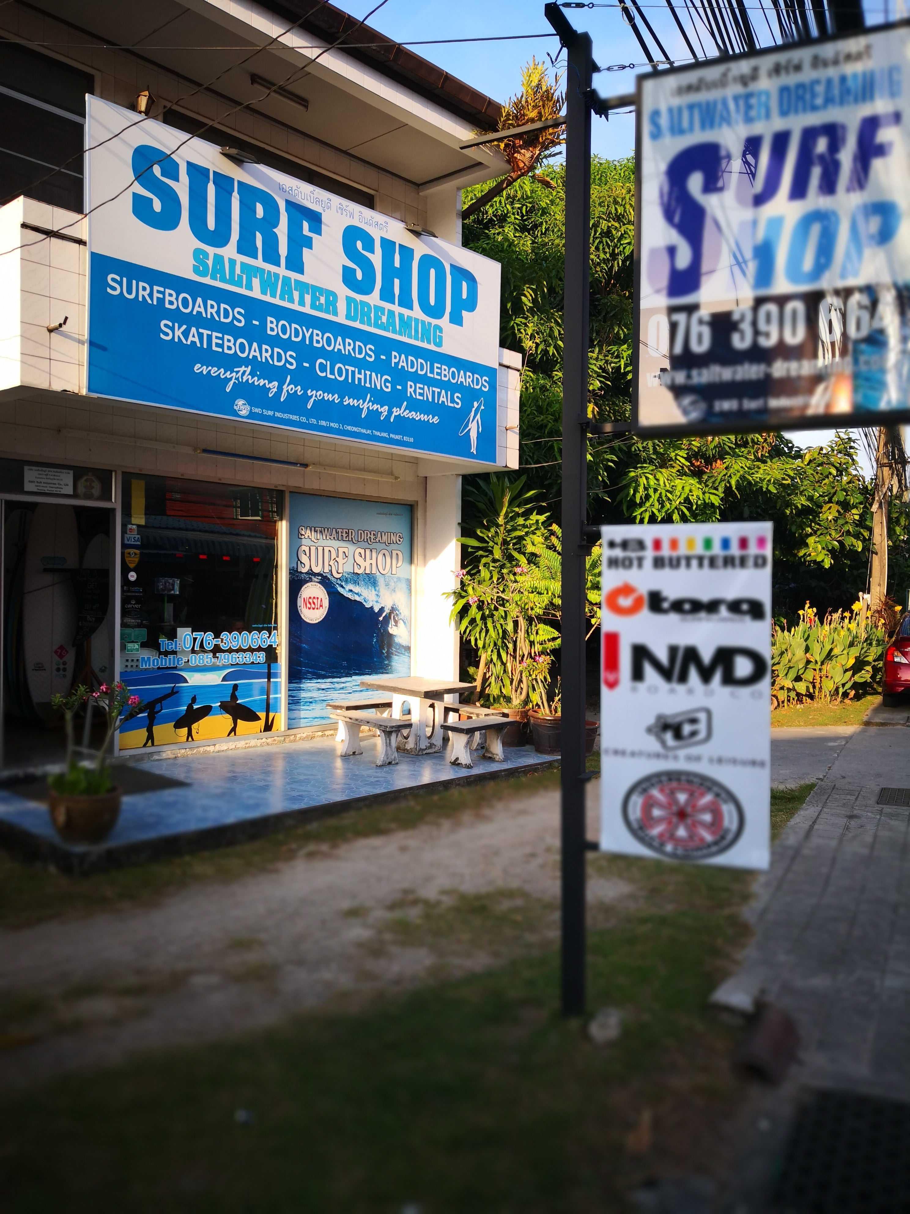 Saltwater Dreaming Surf Shop