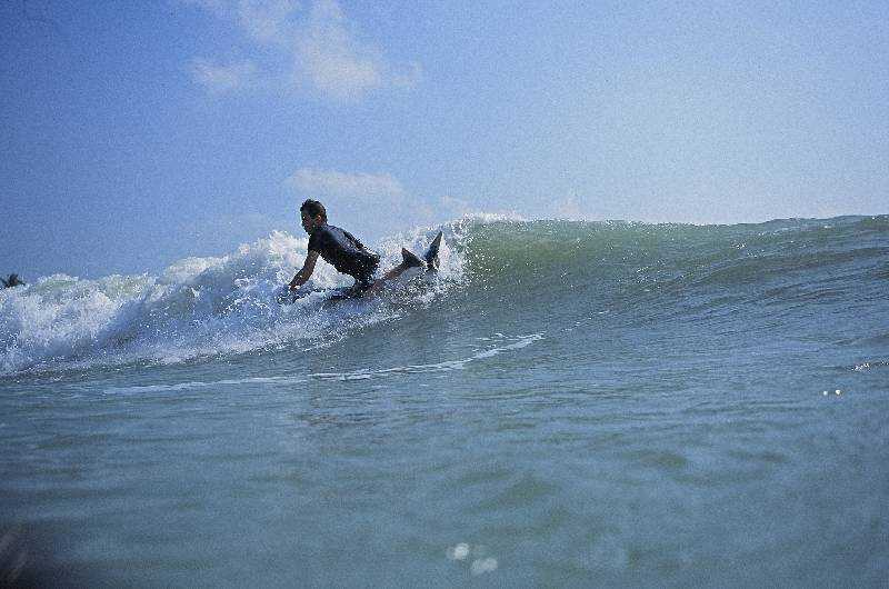 Bodyboard Maneuver