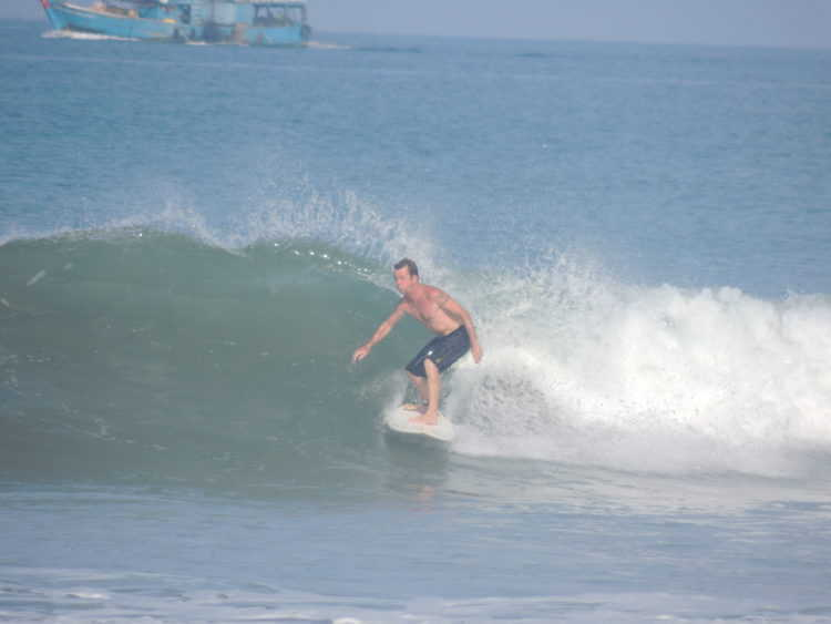 Surfing Ranong
