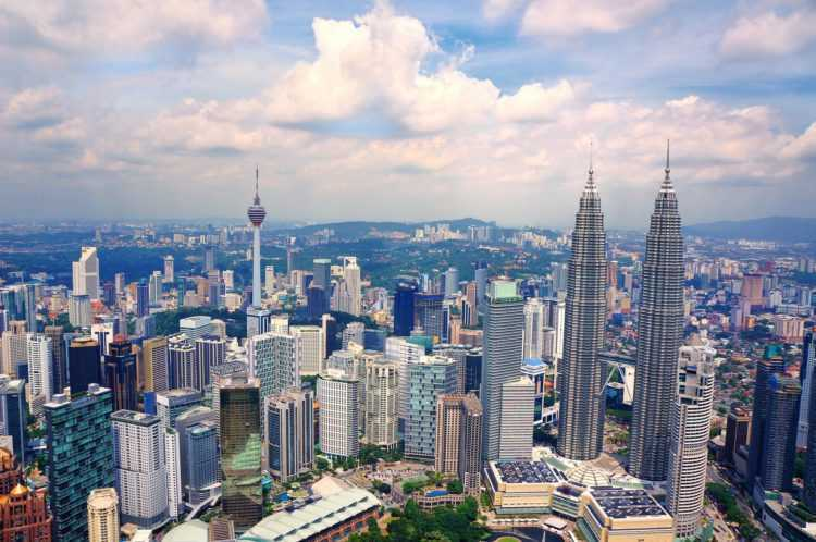 Buildings Malaysia City Urban Cityscape Skyline