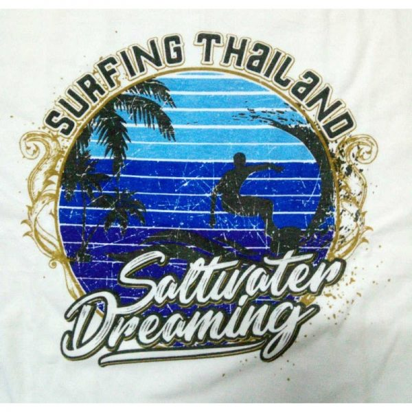 Saltwater Dreaming T-Shirt-Surfing Thailand