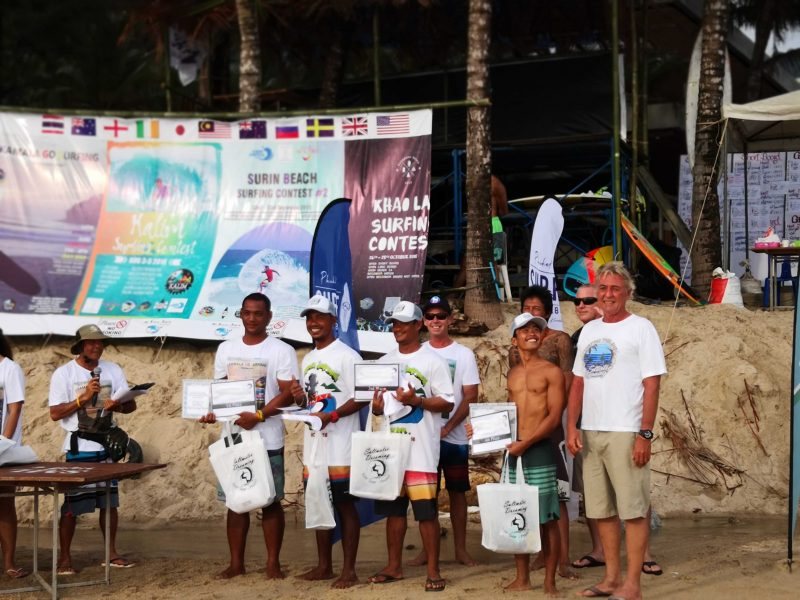 Surin Beach Phuket Surf Contest