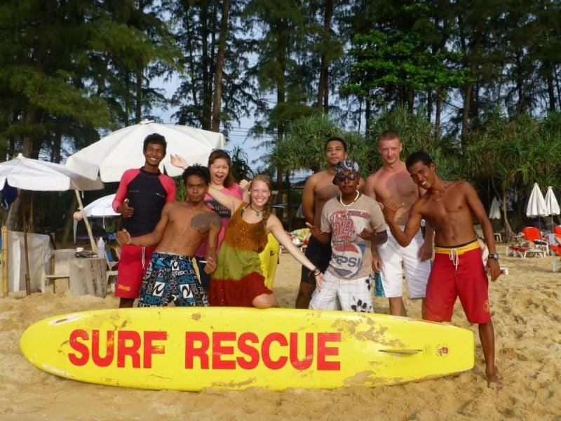 Nai Thon Beach Lifeguards