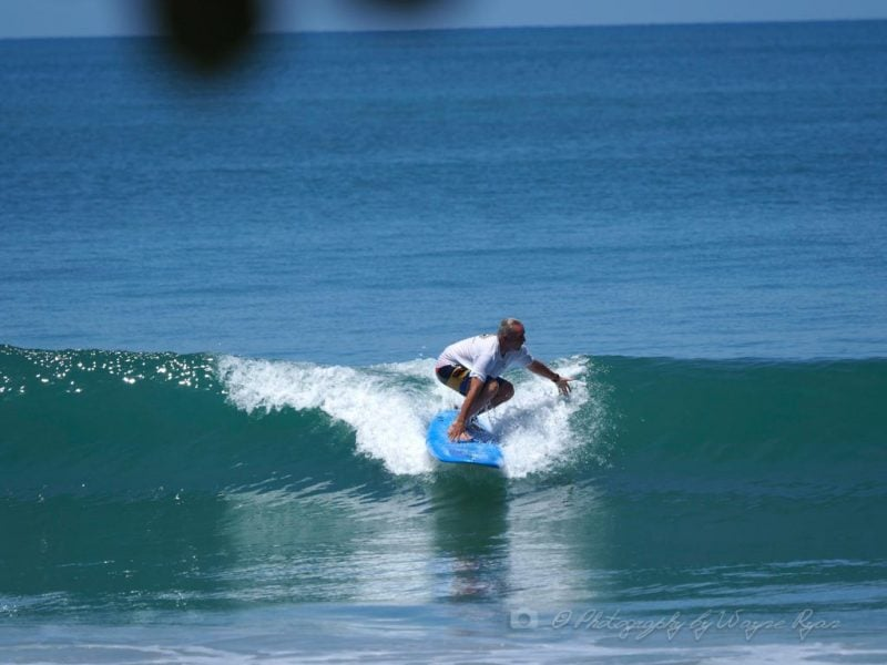 Surfing a Green Wave