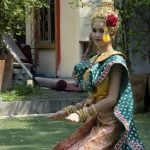 Traditional Thai Dance Clothing