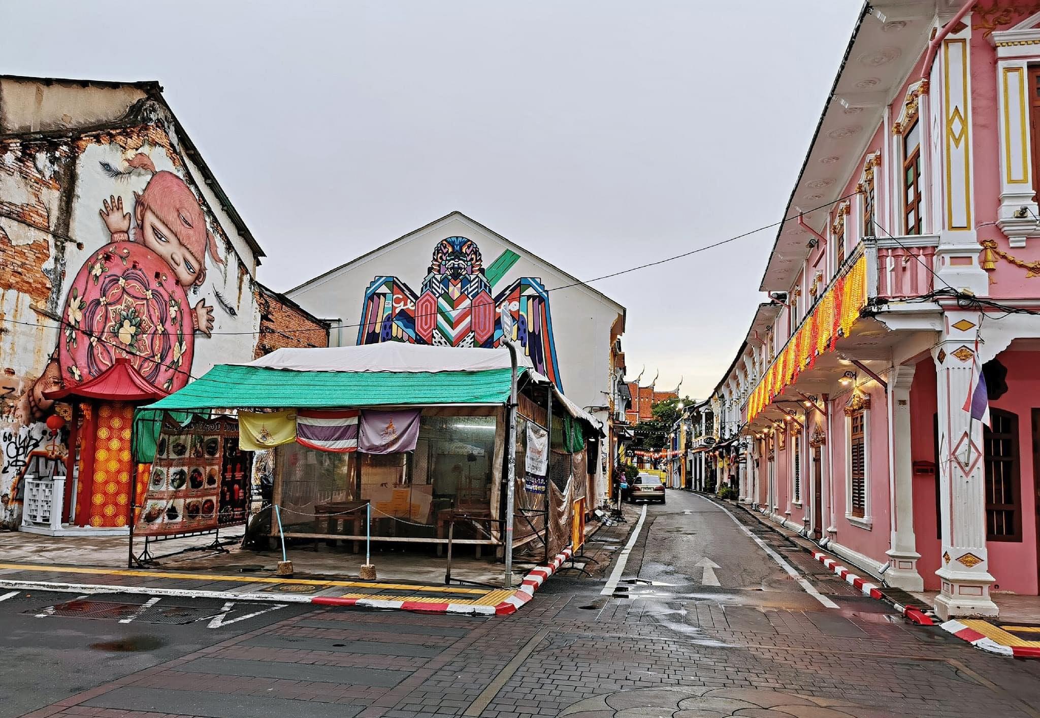 Old Phuket Town Soi Romani